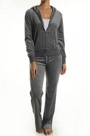 T-Party Fashion Velour Hoodie Set - Product Mini Image