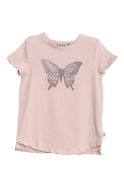 Wheat T-shirt Butterfly - Front cropped