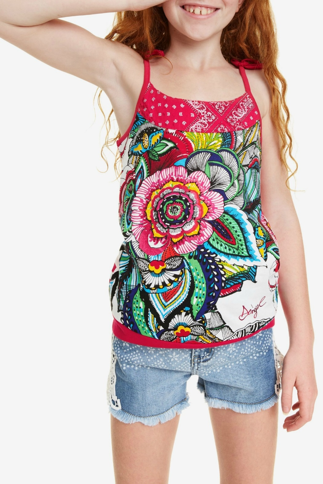 DESIGUAL T-Shirt Eriosyce - Front Cropped Image