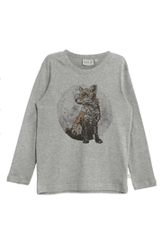 Wheat T- Shirt Fox - Front cropped