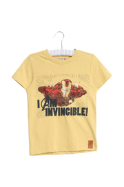 Wheat T-SHIRT IRONMAN - Front cropped