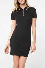 Best Mountain T-Shirt Polo Dress - Front cropped