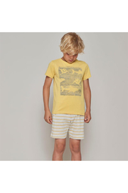 Wheat T-Shirt Sea Life - Front full body
