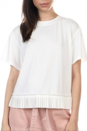 Current Air T-shirt with pleated bottom - Product Mini Image