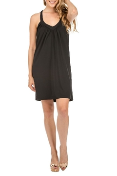 JoyJoy T-Strap Black Dress - Product List Image