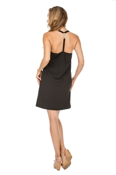 JoyJoy T-Strap Black Dress - Alternate List Image