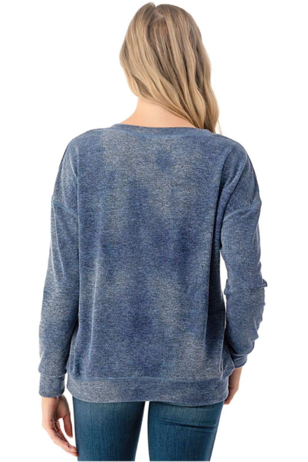 Ariella Tie Dye Pullover - Front Full Image