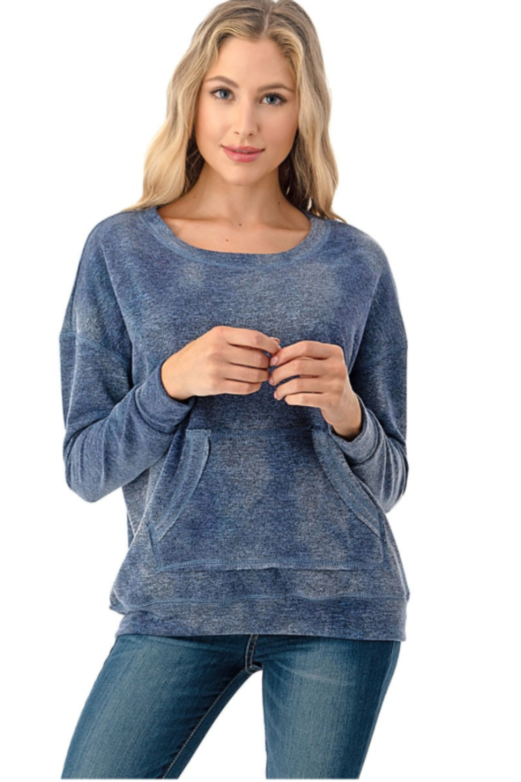 Ariella Tie Dye Pullover - Front Cropped Image