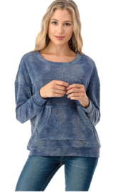 Ariella Tie Dye Pullover - Front cropped