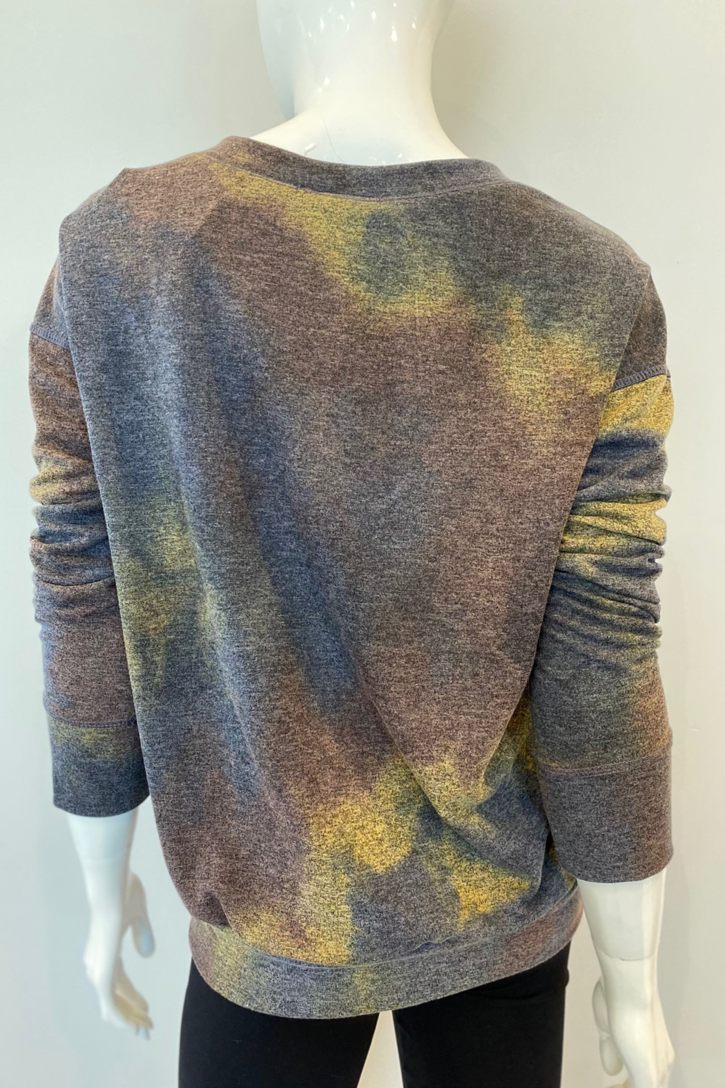 Ariella Tie Dye Pullover - Side Cropped Image