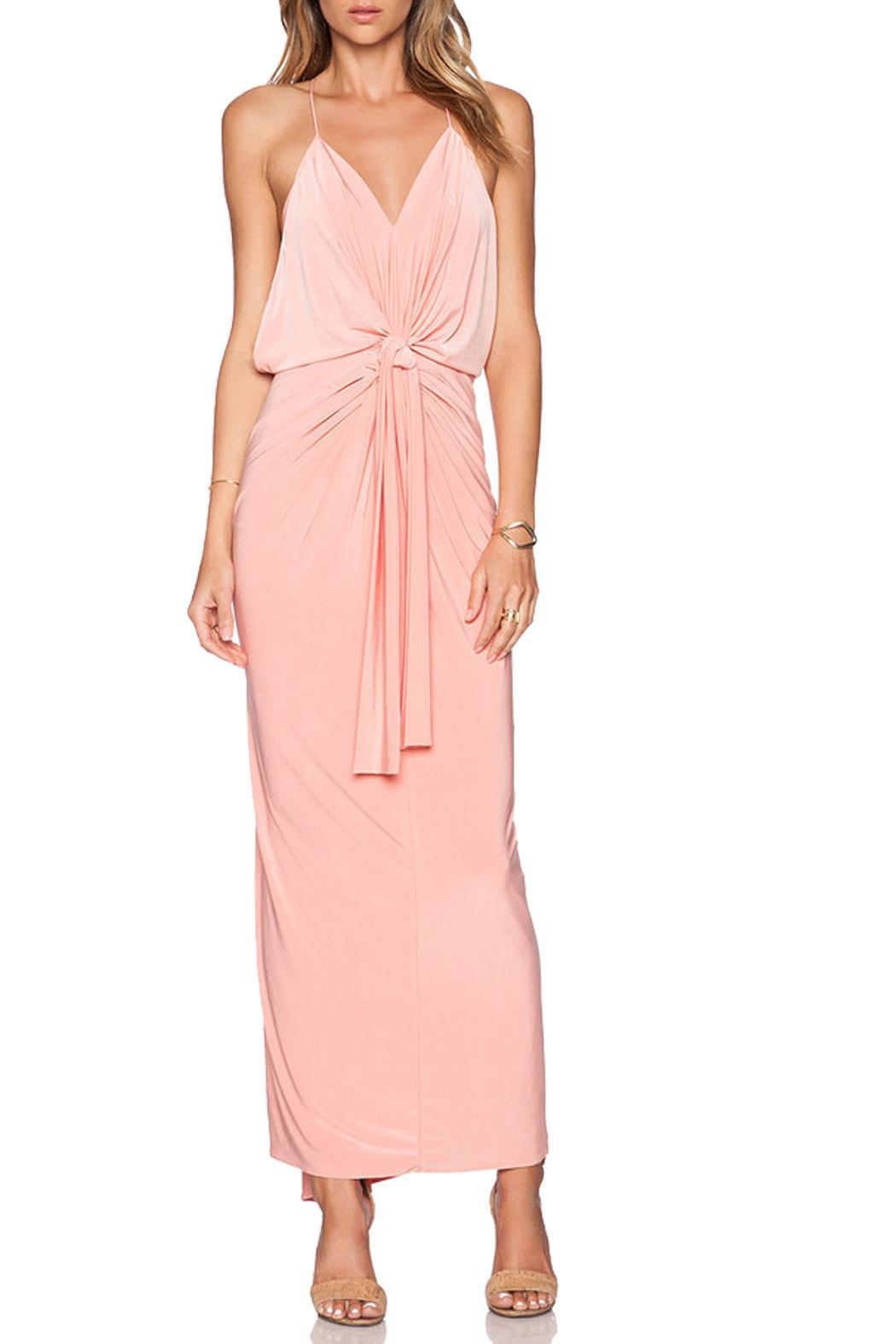 T Bags Los Angeles Maxi Dress Front Cropped Image