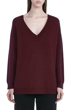 T by Alexander Wang Cashwool V Neck Sweater - Product List Image