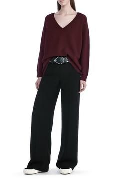 T by Alexander Wang Cashwool V Neck Sweater - Alternate List Image