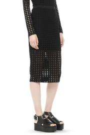 T by Alexander Wang Circular Jersey Skirt - Side cropped