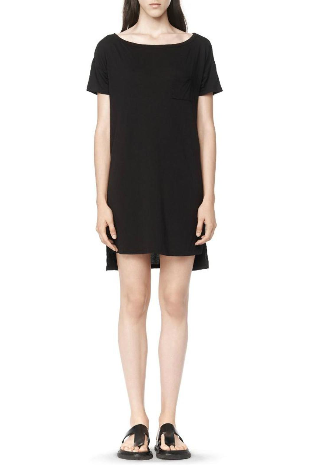T by Alexander Wang Classic Boatneck Dress - Main Image