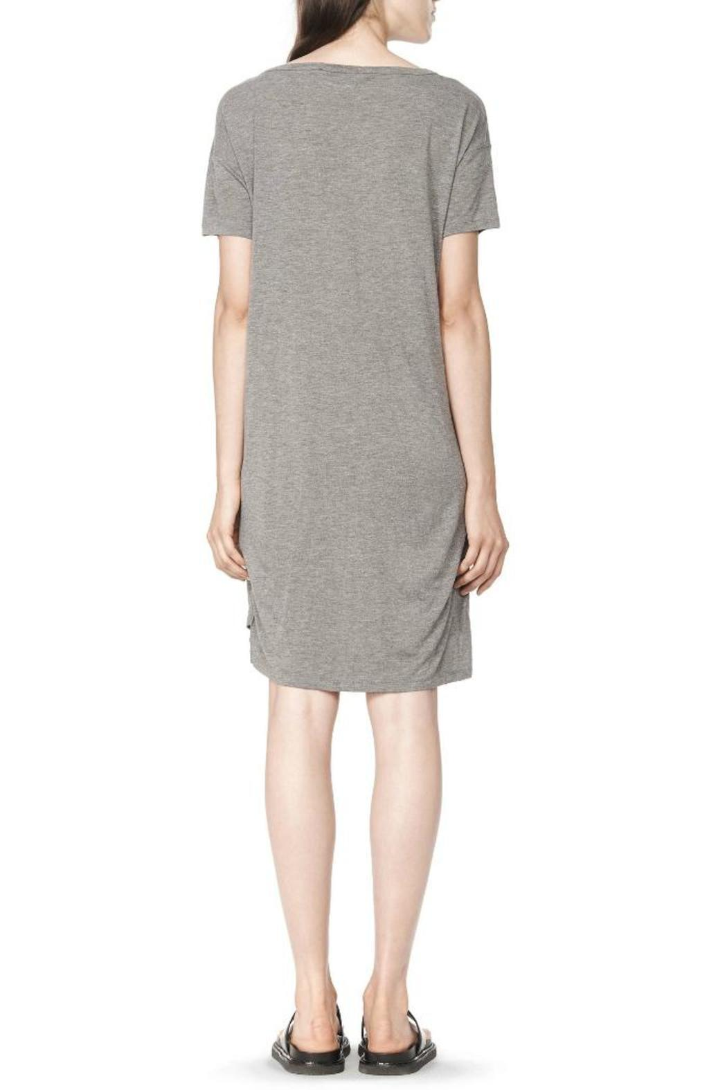 T by Alexander Wang Classic Boatneck Dress - Front Full Image
