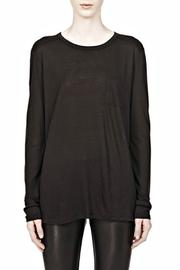 T by Alexander Wang Classic Longsleeve Pocket - Product Mini Image