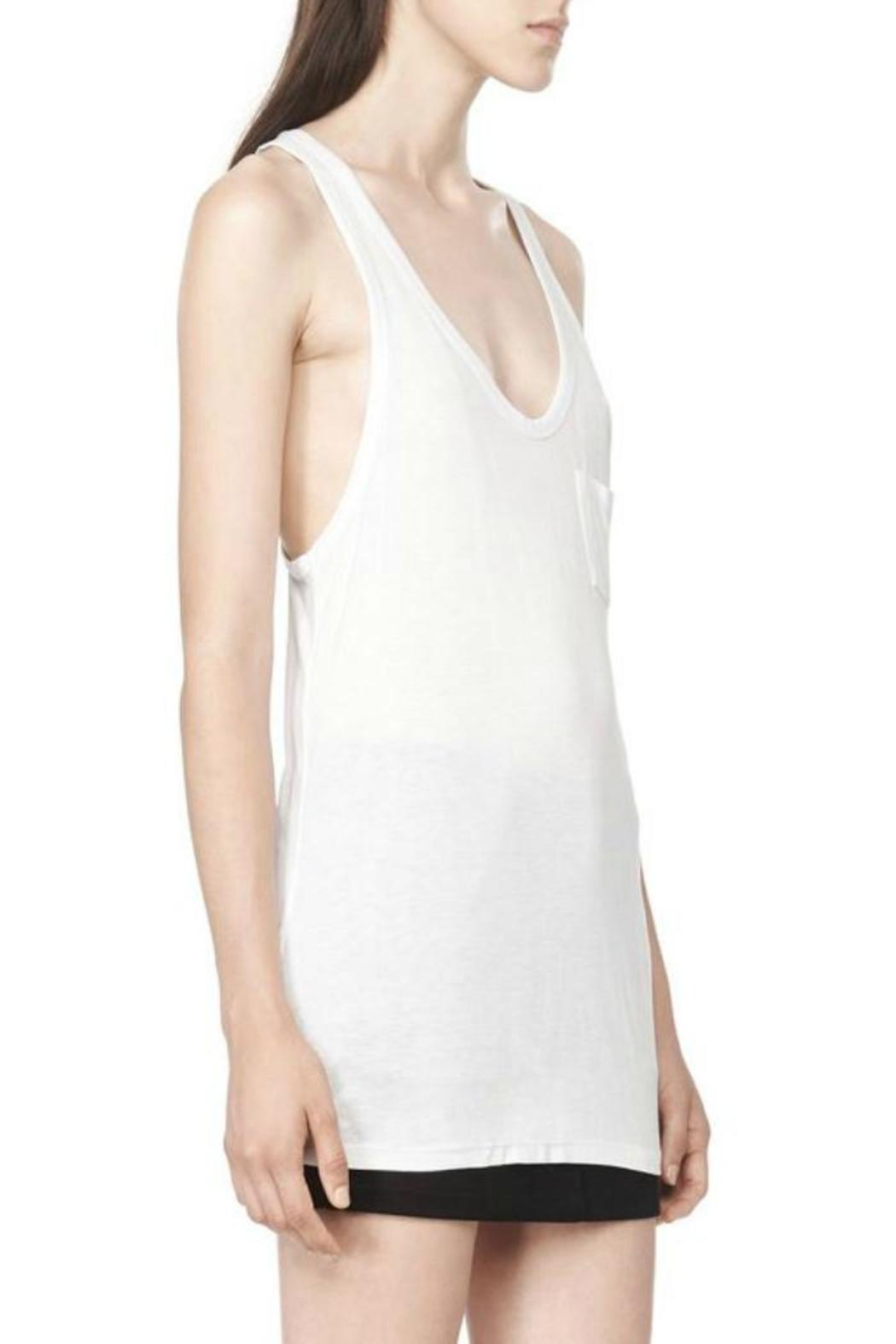 T by Alexander Wang Classic Tank Pocket - Front Full Image