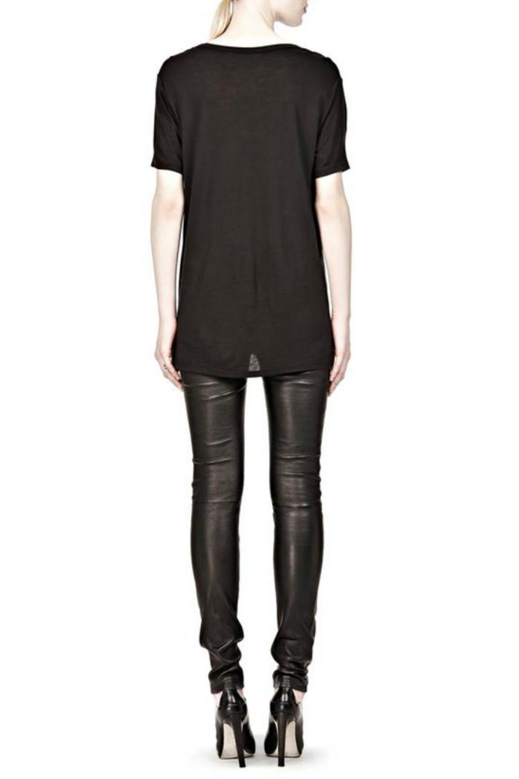 T by Alexander Wang Classic Tee Pocket - Back Cropped Image