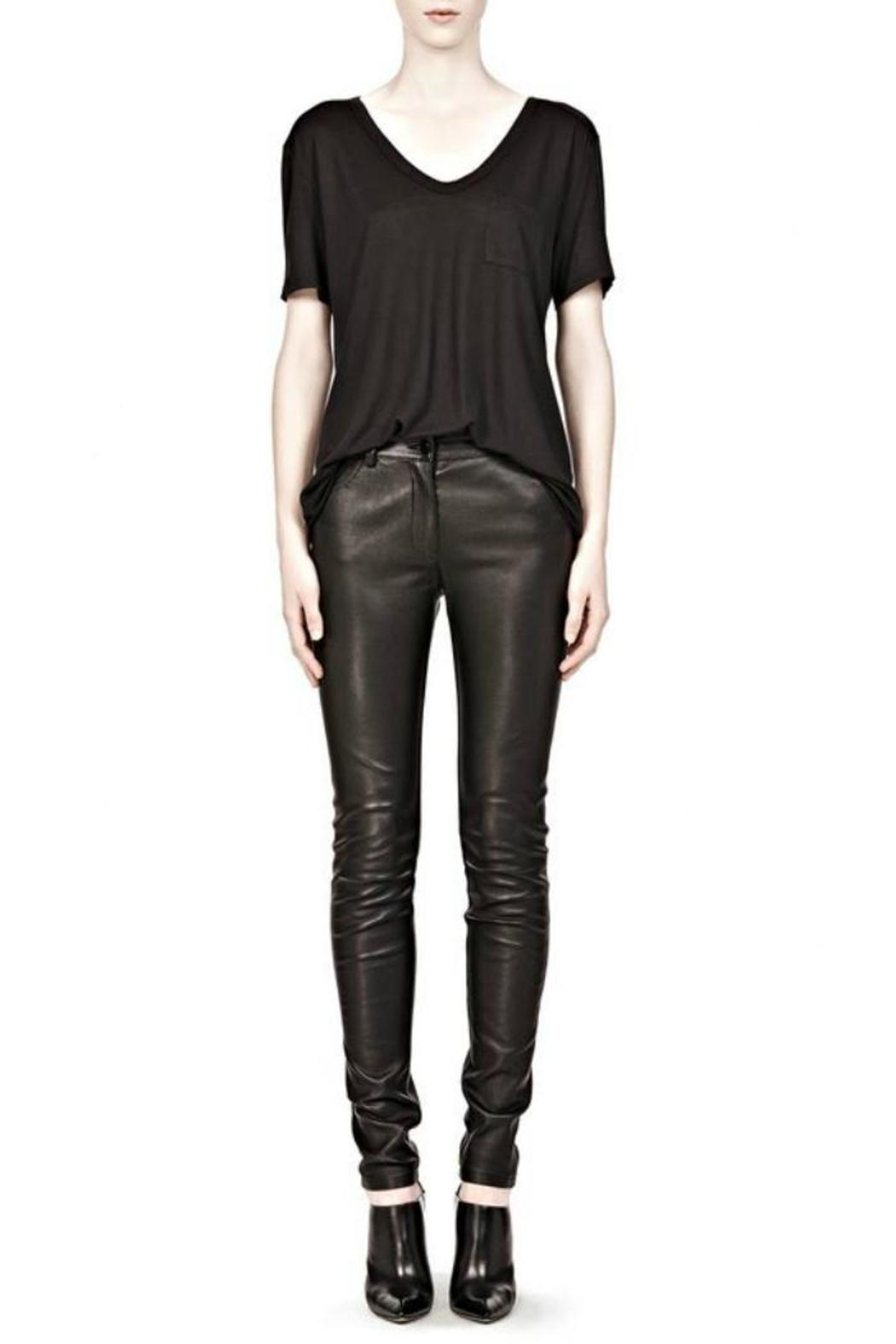 T by Alexander Wang Classic Tee Pocket - Side Cropped Image