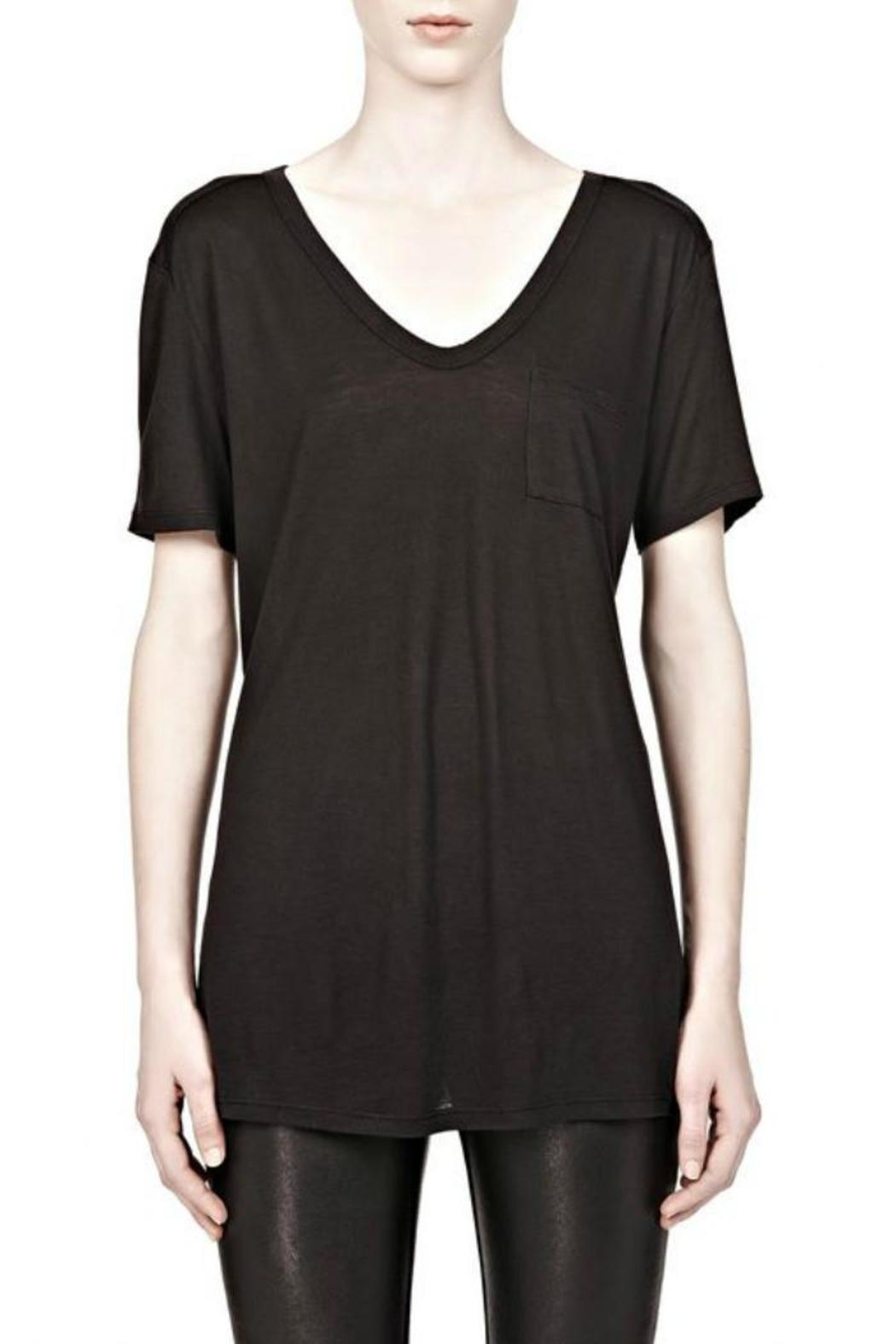 T by Alexander Wang Classic Tee Pocket - Main Image