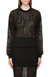 T by Alexander Wang Crinkle Knit Top - Product Mini Image