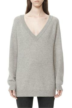 T by Alexander Wang Deep V-Neck Sweater - Product List Image