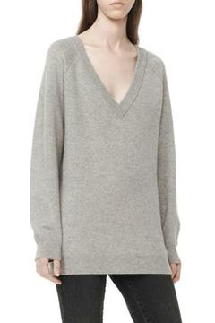 T by Alexander Wang Deep V-Neck Sweater - Alternate List Image