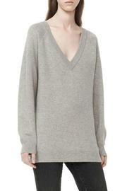 T by Alexander Wang Deep V-Neck Sweater - Side cropped
