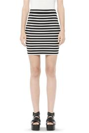 T by Alexander Wang Engineered Stripe Skirt - Product Mini Image