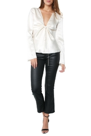 T by Alexander Wang Hammered Tie Knot Top - Product Mini Image