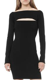 T by Alexander Wang Long Sleeve Bandeau Dress - Front cropped