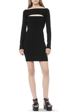 T by Alexander Wang Long Sleeve Bandeau Dress - Alternate List Image