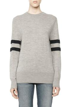 T by Alexander Wang Merino Stripe Crewneck - Product List Image