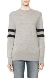T by Alexander Wang Merino Stripe Crewneck - Product Mini Image