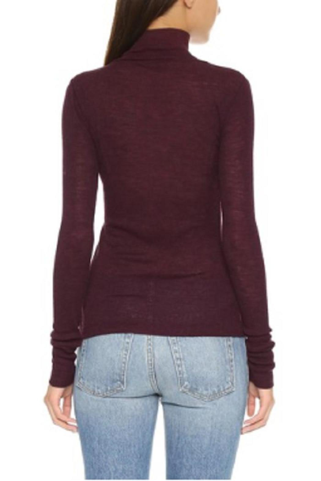 T by Alexander Wang Mock Neck Shirt - Front Full Image