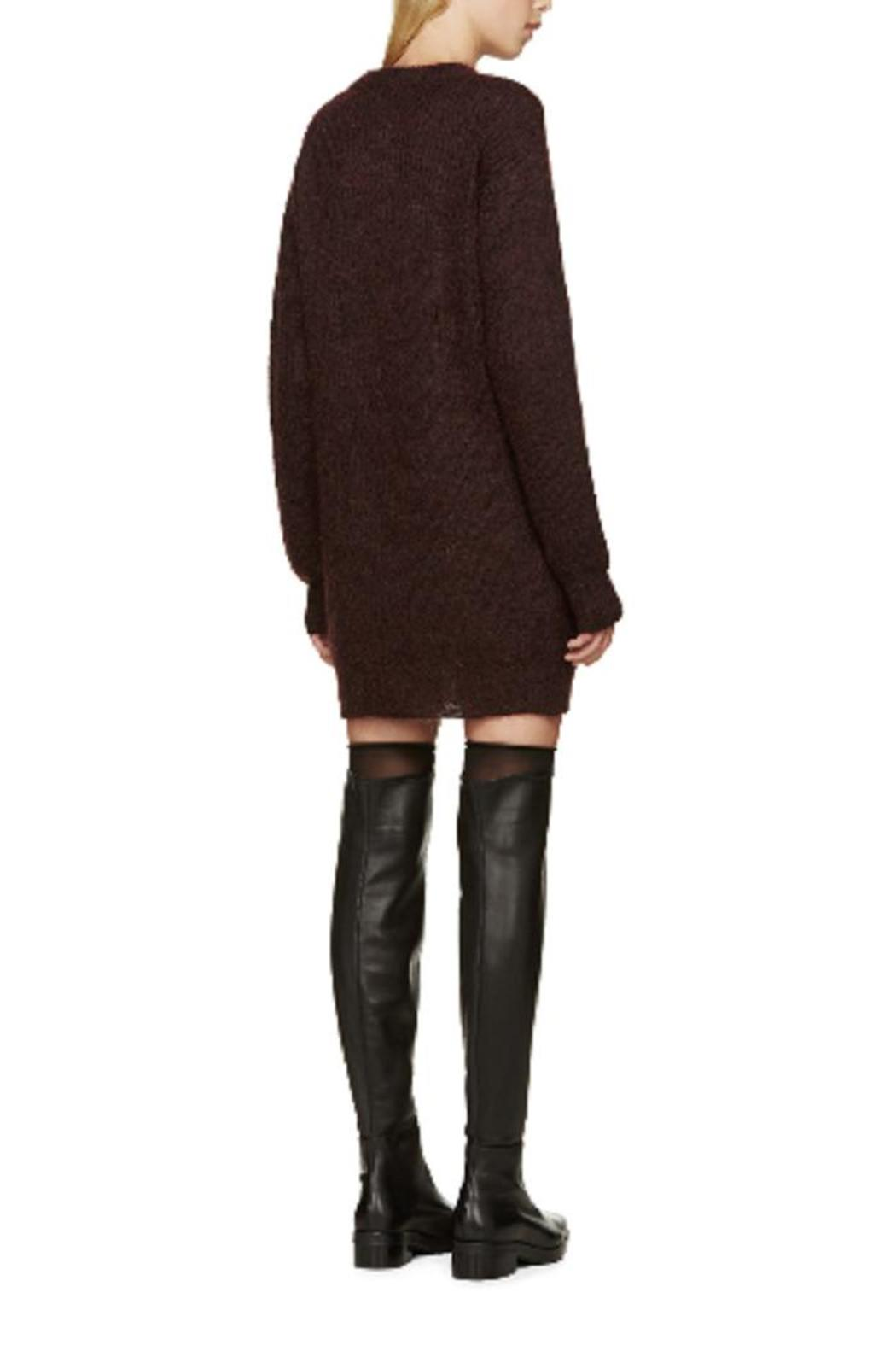 T by Alexander Wang Mohair Tunic Sweater Dress - Front Full Image