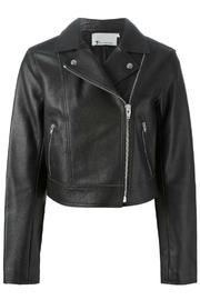 T by Alexander Wang Pebbled Leather Jacket - Product Mini Image