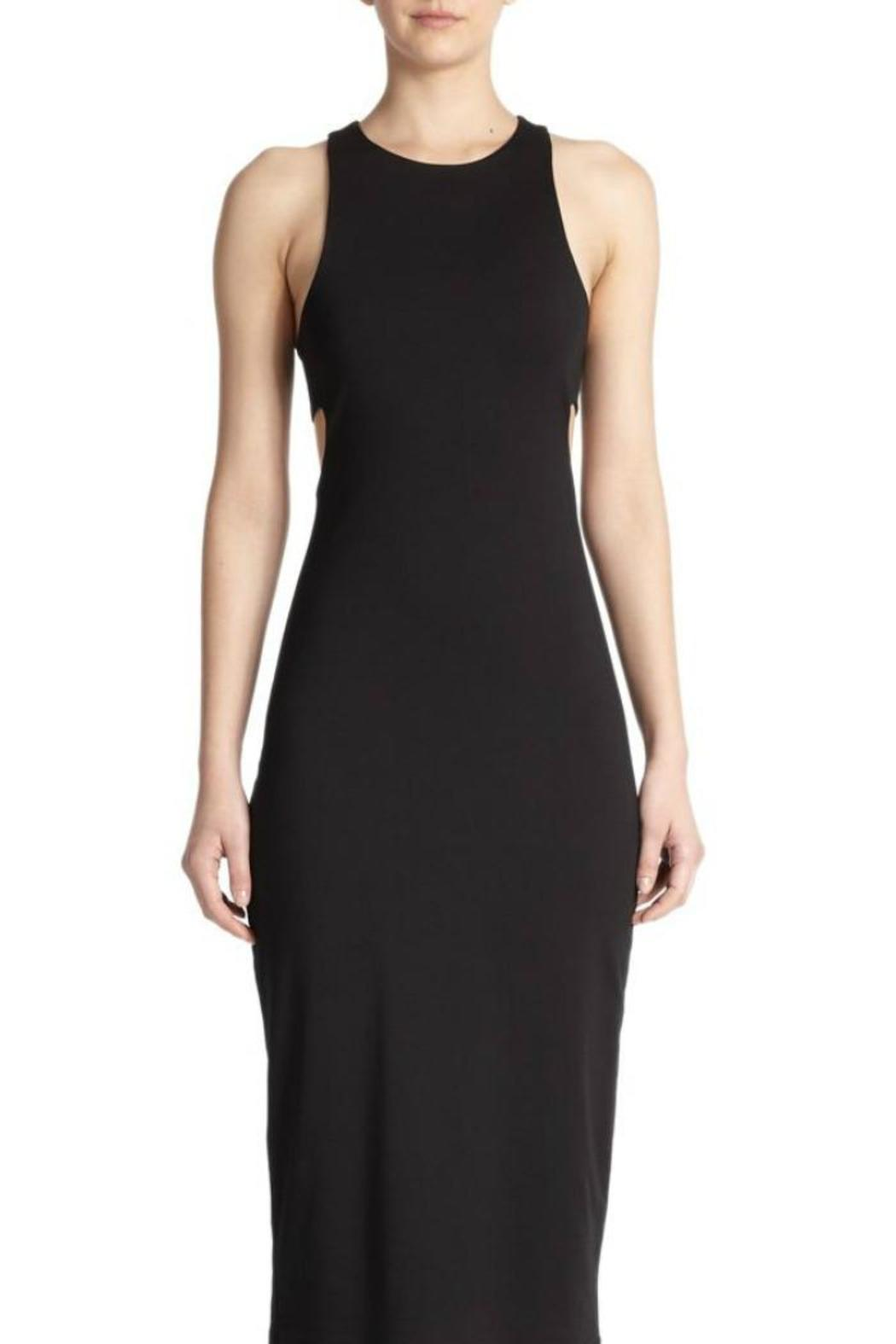 T by Alexander Wang Ponte Bandeau Sheath - Front Cropped Image
