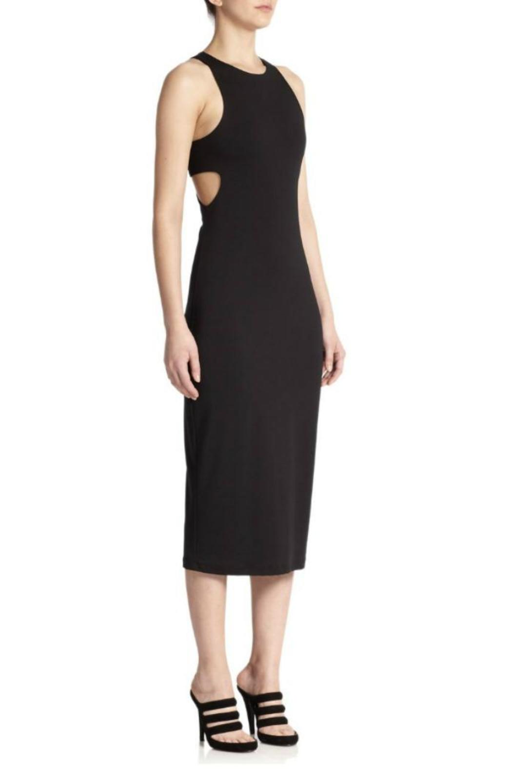 T by Alexander Wang Ponte Bandeau Sheath - Main Image
