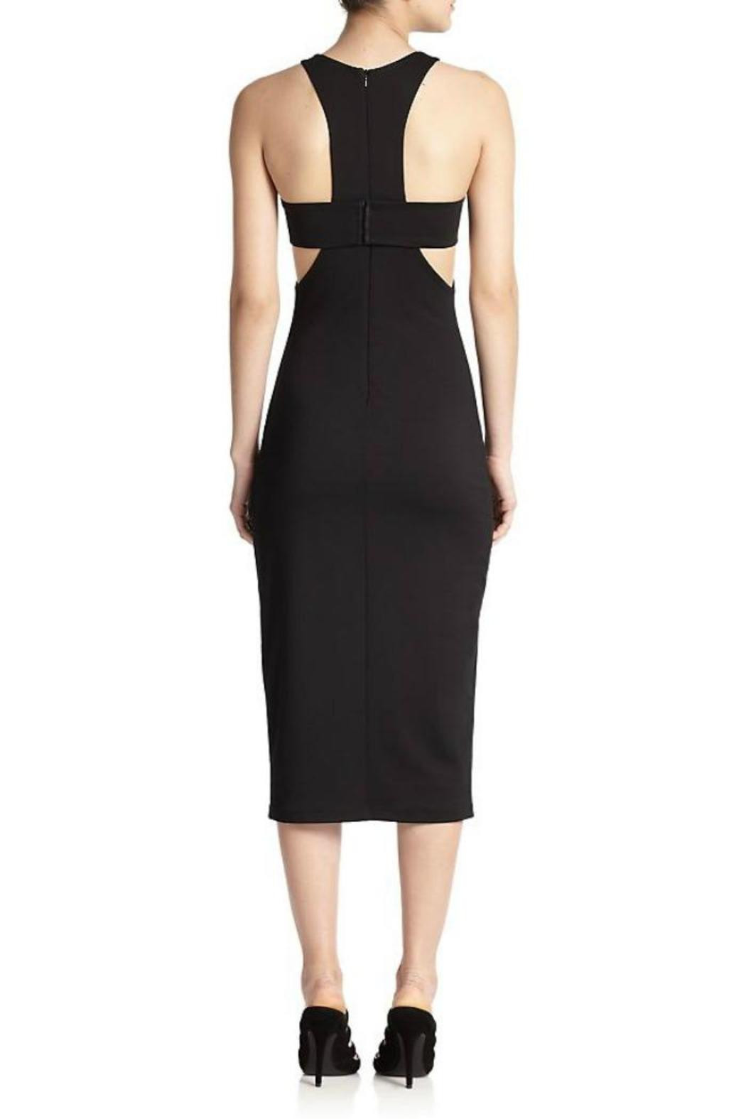 T by Alexander Wang Ponte Bandeau Sheath - Front Full Image