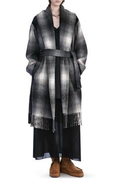 T by Alexander Wang Shawl Collared Coat - Alternate List Image