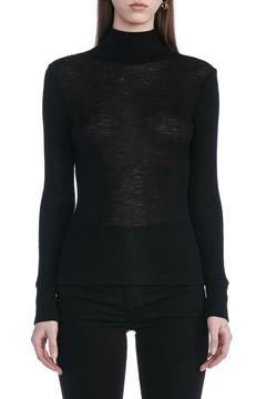 Shoptiques Product: Sheer Wooly Turtleneck