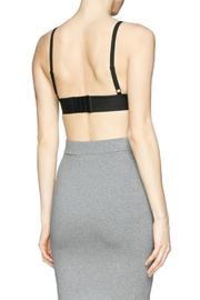 T by Alexander Wang Stretch Pique Triangle Bra - Back cropped