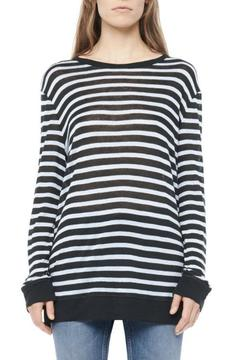 T by Alexander Wang Stripe Linen Top - Product List Image