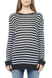 T by Alexander Wang Stripe Linen Top - Product Mini Image