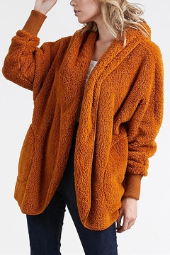 T Party Fuzzy Faux-Fur Jacket - Product List Image