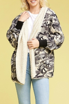 T Party Fuzzy Fur Jacket - Product List Image