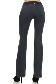 T Party Mineral Washed Foldover - Front full body
