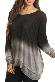T Party Ombre Dye Sweater - Product Mini Image